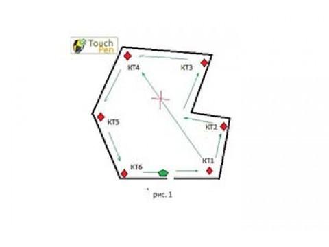 TouchPen описание маршрута.